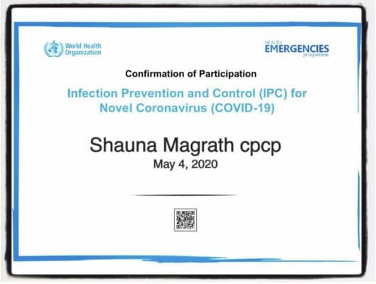 Covid protocol, BBP, PPE, contamitation control